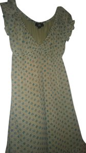I.N. San Francisco short dress Green on Tradesy