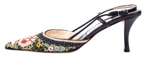 Emma Hope Black w/ Floral Sandals