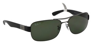 Ray-Ban Ray Ban Black Polarized Sunglasses RB3522