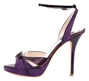 Dior Purple Platforms