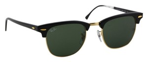 Ray-Ban Ray Ban Clubmaster Black/Gold Sunglasses RB 3016