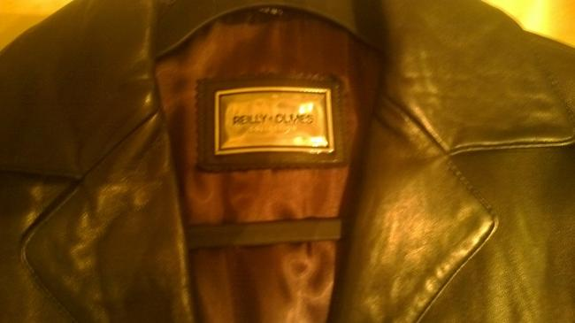 Reilly Olves Leather Trench Coat