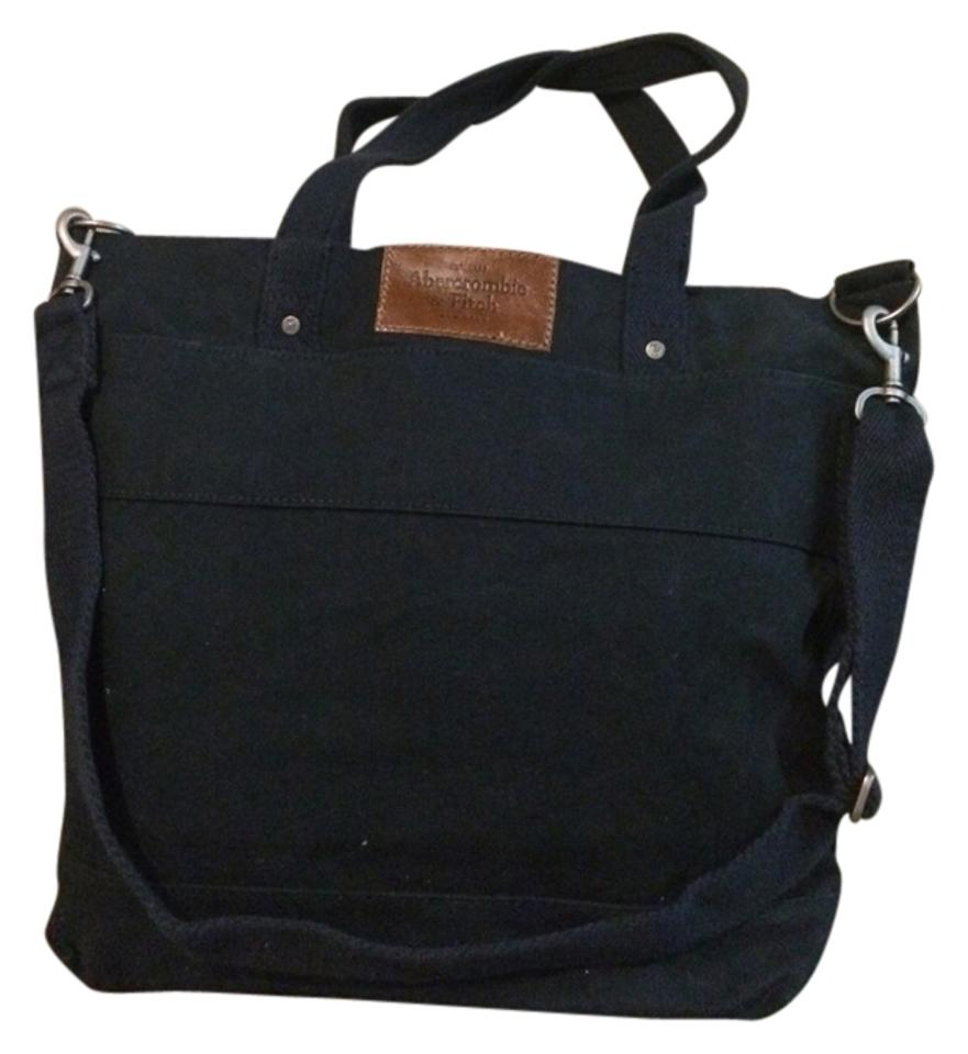 Abercrombie Fitch Blue Messenger Bag