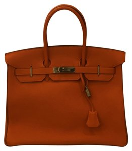 Hermès Satchel in Classic Orange
