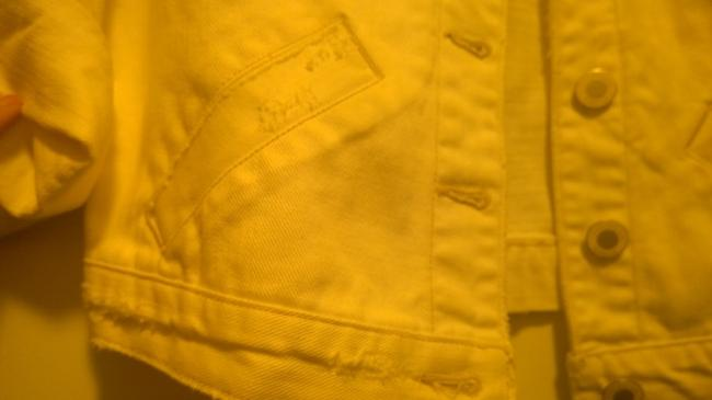 American Eagle Outfitters White Womens Jean Jacket