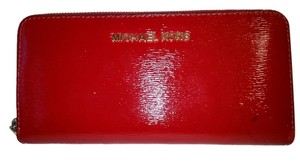 Michael Kors Rich red Clutch