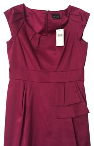 Max and Cleo Sheath Wineberry Dress
