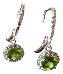 kay Jewelry Peridot Dangling Earrings
