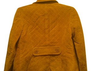 Ann Taylor LOFT Tan Leather Jacket