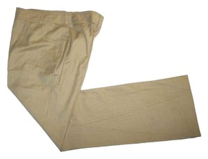 Dior Wool Straight Pants CAMEL
