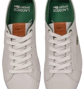 Lacoste White/green Athletic