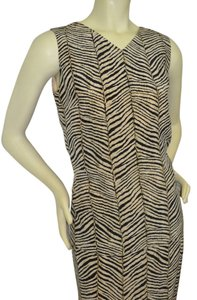 black/beige Maxi Dress by patrick collection