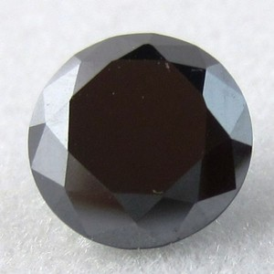 Loose 4.35ct Black Moissanite Stone Free Shipping