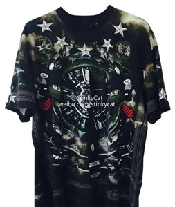 Givenchy T Shirt Green