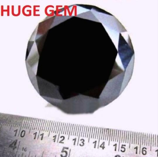 Huge 74.43 Cts Aaa Fancy Brilliant Cut Loose Moissanite Free Shipping