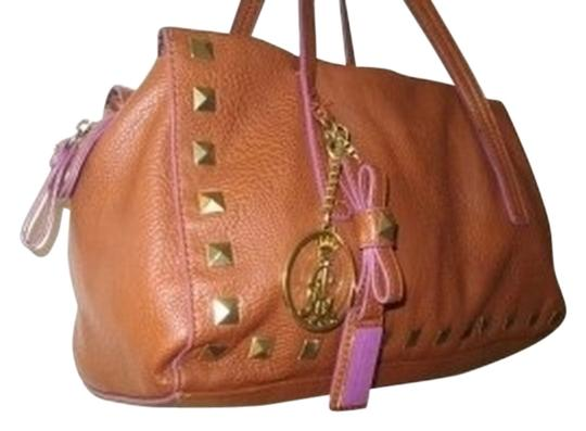Christian Audigier Satchel in BROWN