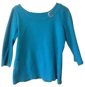Kim Rogers Top Turquoise