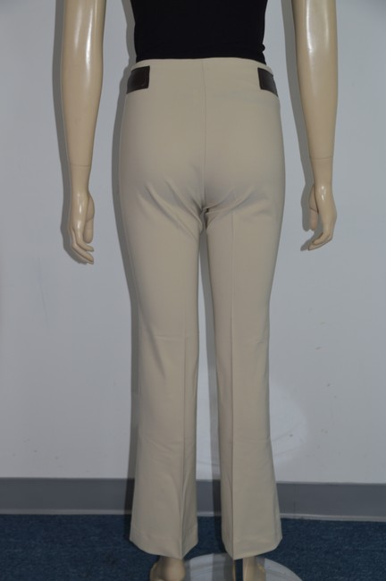 Sharagano Straight Pants Beige