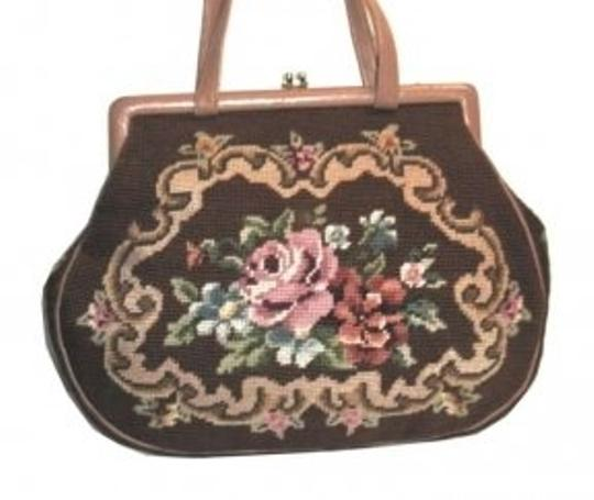 Other Vintage Needle Point Large Needle Point Dg Needle Point Needlepoint Shoulder Bag