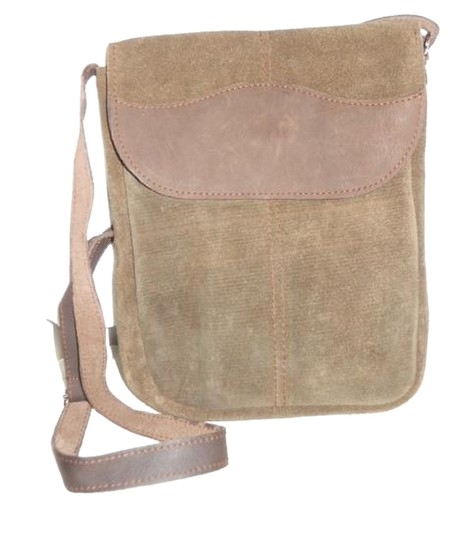 Ahmad's Imports Leather Cross Body Bag
