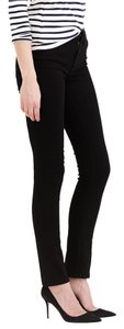 J.Crew Reid Lookout High Rise Mid Rise Straight Leg Jeans-Dark Rinse