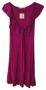Diane von Furstenberg short dress Fuschia on Tradesy