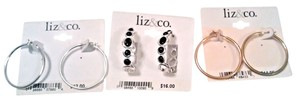 Liz Claiborne Holiday Deal 3 pairs of Liz claiborne earrings MSRP $42