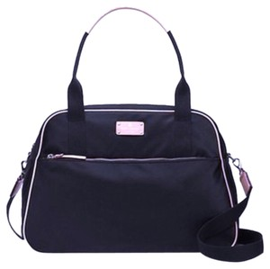 Kate Spade Black With Pink Travel Bag