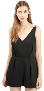 Topshop Romper Strappy Lace Dress