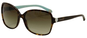 Tiffany & Co. Tiffany Women's Sunglasses Large Tortoise and Teal