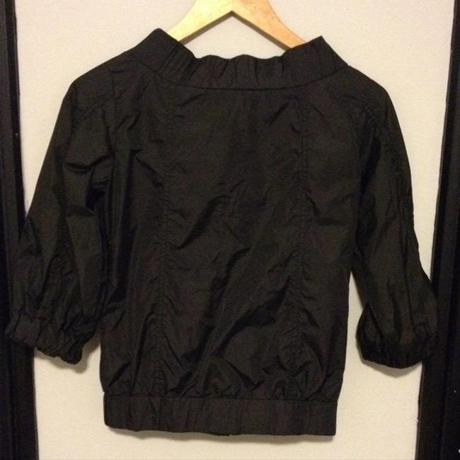 Geren Ford Snaps Elastic Bomber Nylon Windbreaker Motorcycle Jacket
