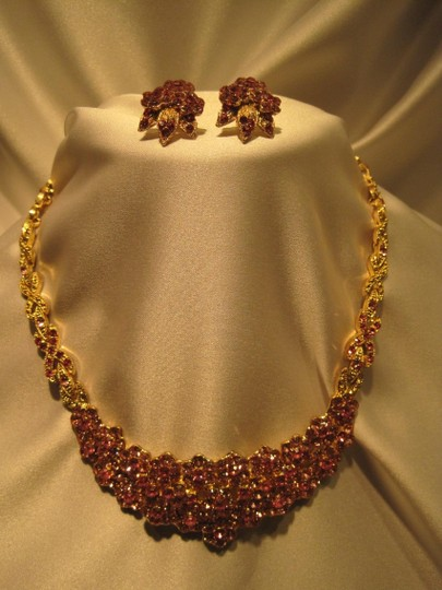 Other Pink Crystal Jewelry Suite - [ Roxanne Anjou Closet ]