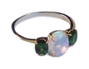 Other Genuine Ethiopian Opal and Chrome Diopside