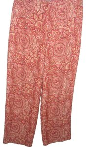 Talbots Paisley Silk Dress Trouser Pants