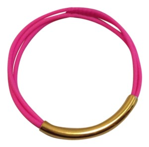 Marc by Marc Jacobs Marc Jacobs Pink rubber bracelet