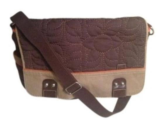 Fossil Brown Messenger Bag