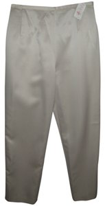 Lord & Taylor Traditional Classic Trouser Pants Beige