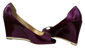 Bamboo Purple Wedges