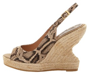 Andre Assous Beige/Brown Sandals