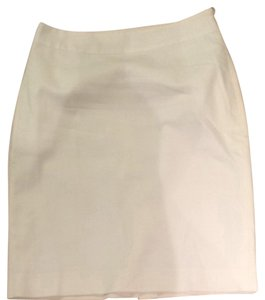 Ann Taylor Skirt White