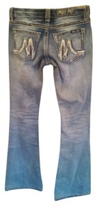 Miss Me Flare Leg Jeans-Light Wash