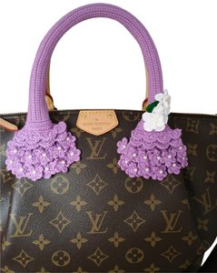 Other Handmade Louis Vuitton LV Turenne Siena PM pallas bb Handbag Purse Bag Handle Covers Crochet