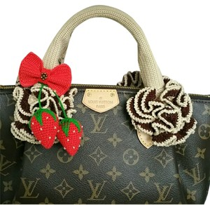 Other Handmade Handle Covers For Louis Vuitton Speedy Alma trouville montaigne Deauville Crochet Beige