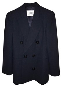 Gianfranco Ferre Vintage Italian Fashion Black Blazer