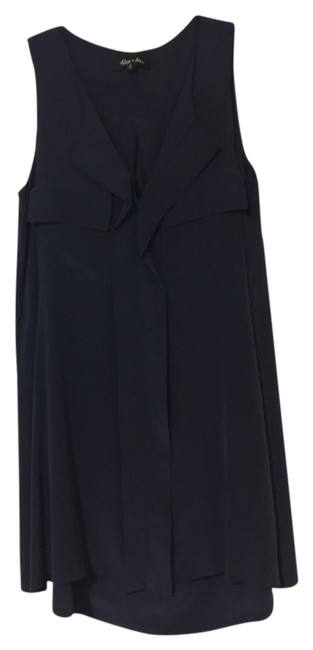 Item - Dark Navy Casual Formal Mid-length Night Out Dress Size 4 (S)