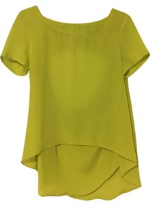 BCBGeneration Backless Yellow Bcbg Top yellow/ lemon/ mustard