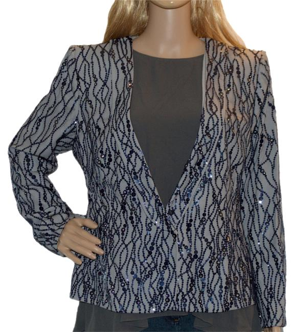 Preload https://item4.tradesy.com/images/giorgio-armani-blue-poly-sequin-size-14-l-1443508-0-0.jpg?width=400&height=650