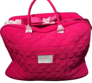 Vera Bradley Fuschia Travel Bag
