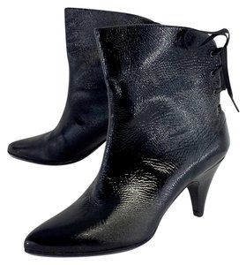 Sigerson Morrison Black Patent Leather Boots