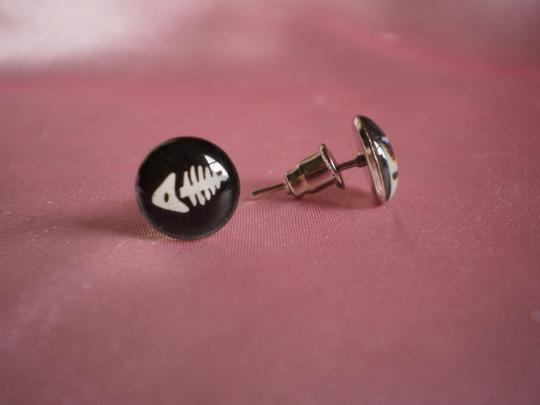 Other New Stainless Steel, Enamel Fashion Stud Earrings